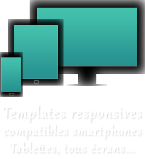 template responsive